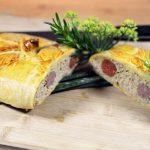 Le pâté en croûte aux 3 saucisses (par jour de pluie)