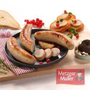 Metzger Muller - boudin truffe noire Périgord