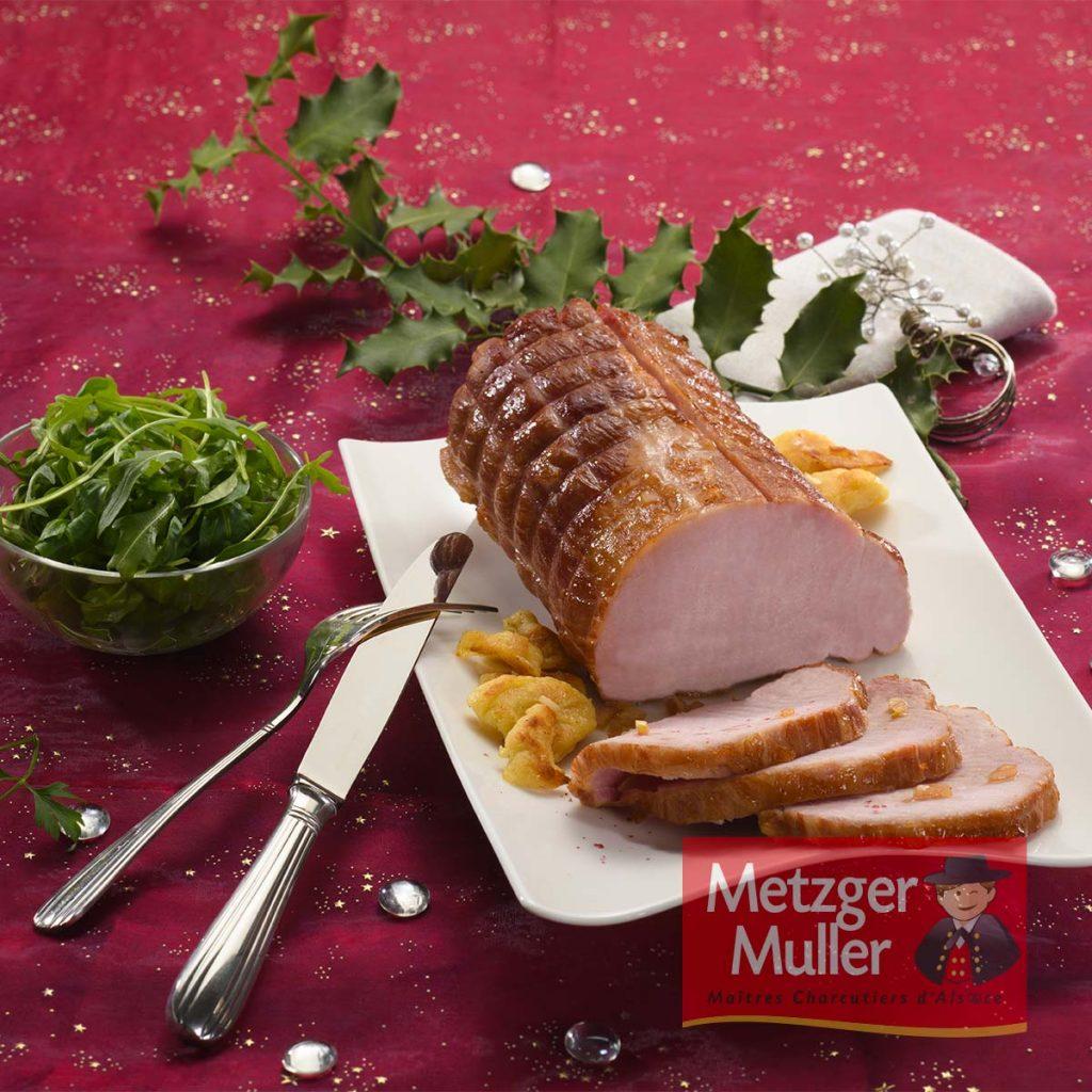 Metzger Muller -Kassler à la bière de Noël