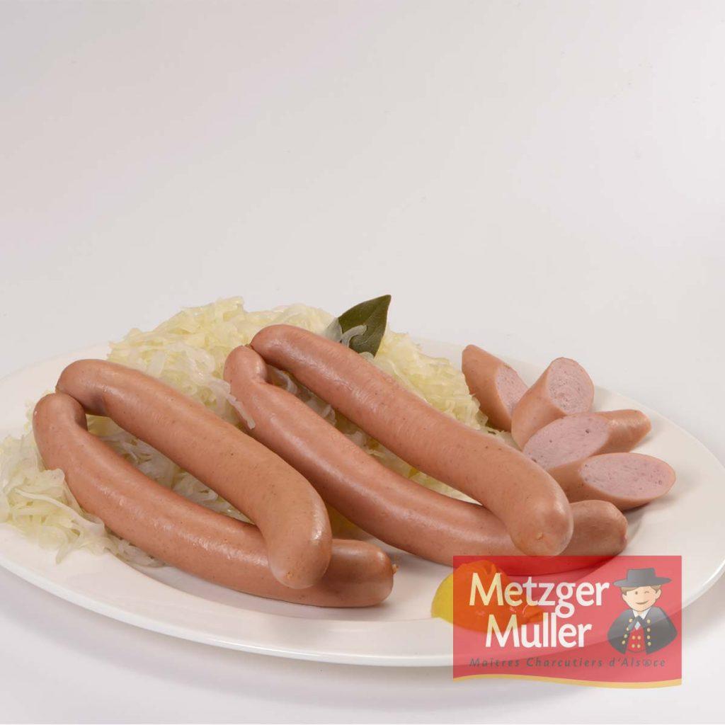 Metzger Muller - knack fumée