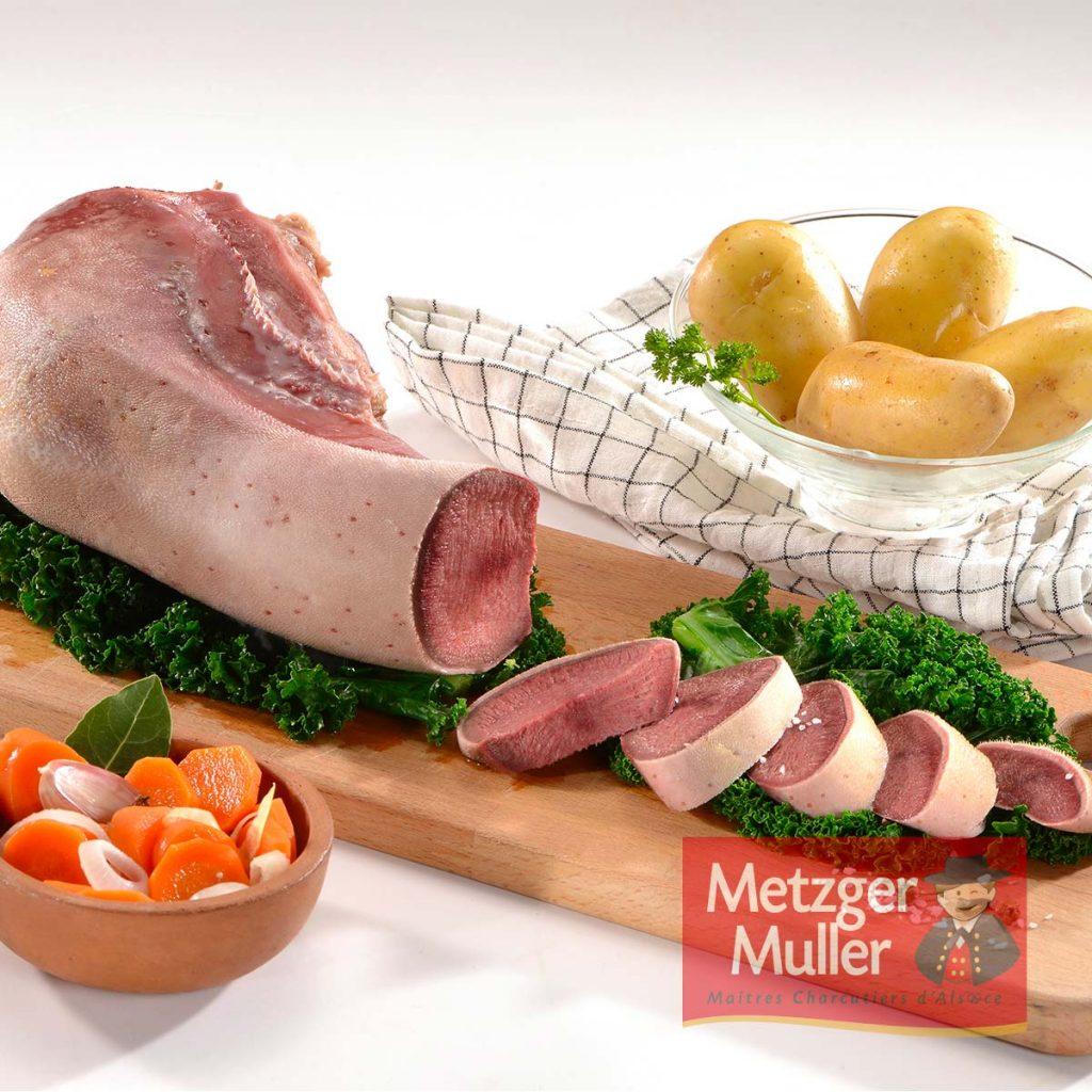 Metzger Muller - Langue de boeuf salée