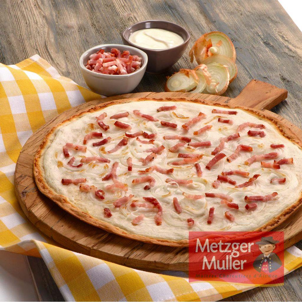 Metzger Muller - Lardon flamm's