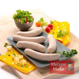 Metzger Muller - Saucisse blanche à griller au fromage