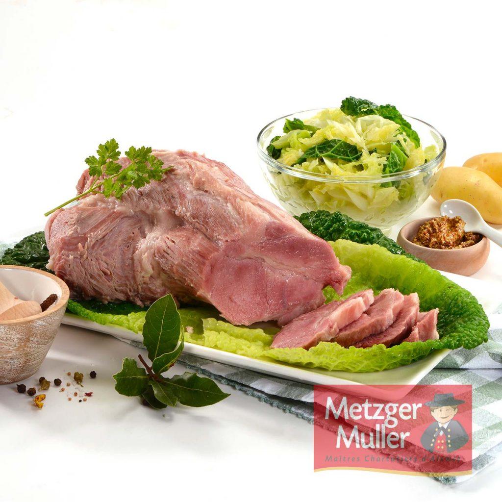 Metzger Muller - Échine salée cuite