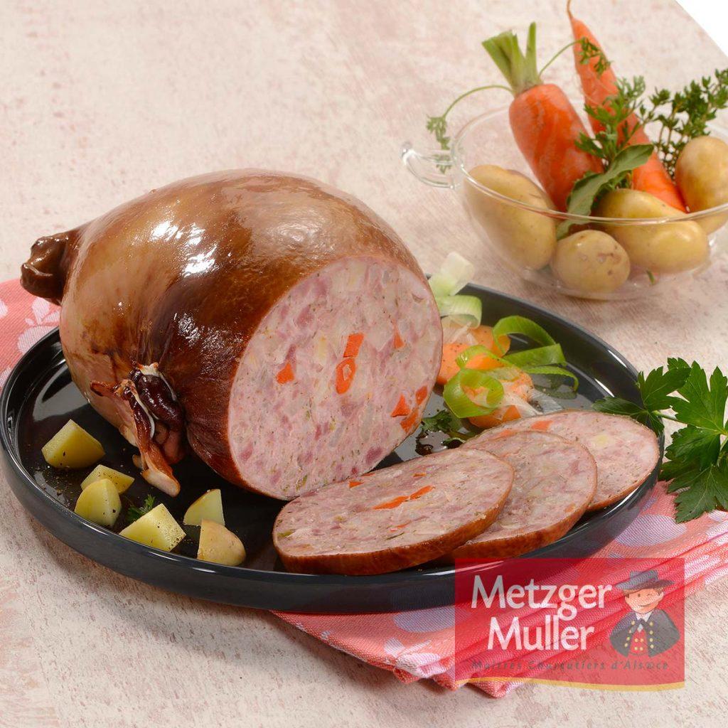 Metzger Muller - Estomac de porc farci