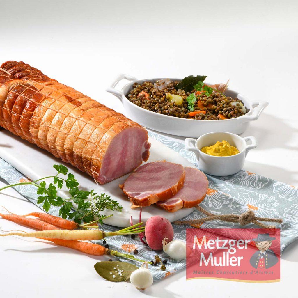 Metzger Muller - Kassler fumé