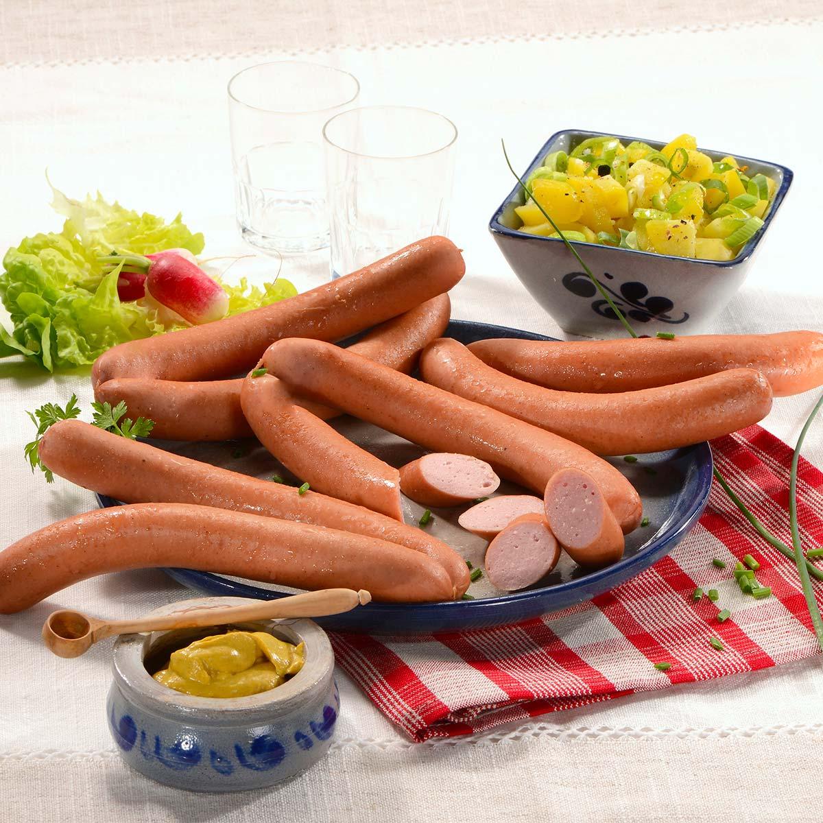 Pavé de jambon fumé cru d'Alsace