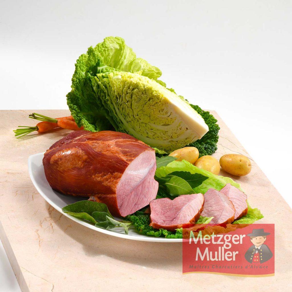 Metzger Muller - Palette fumée cuite