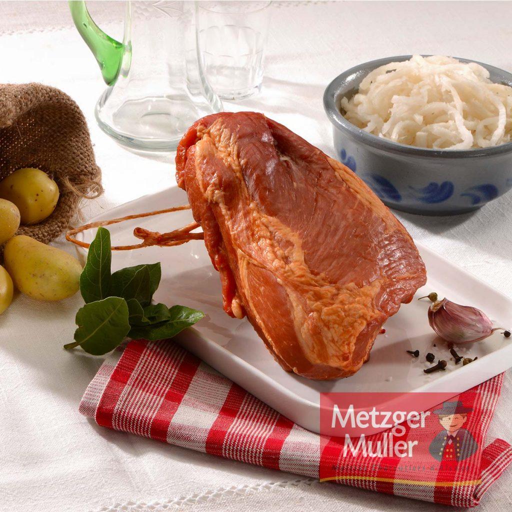 Metzger Muller - Palette fumée sans os