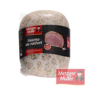 Metzger Muller - Palette au raifort