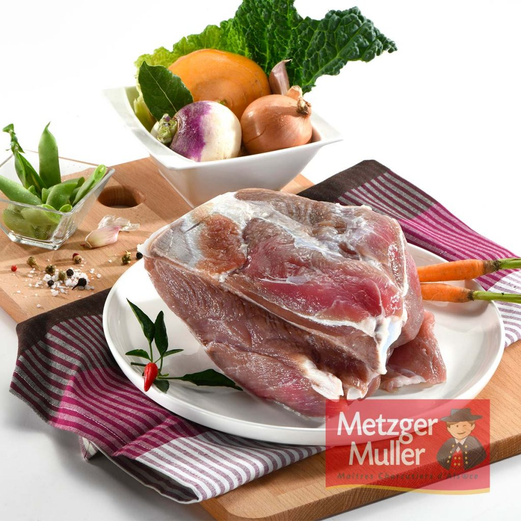 Metzger Muller - Palette salée avec os