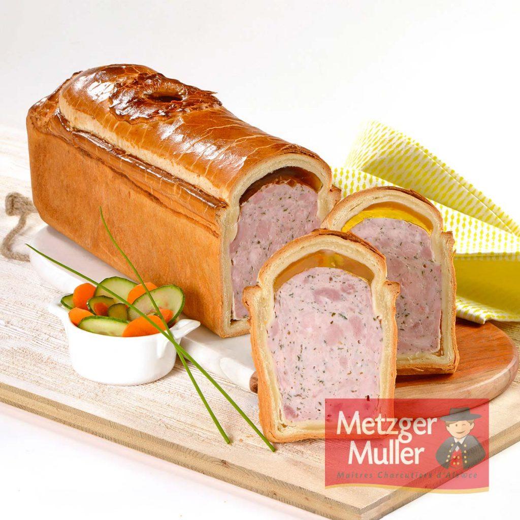 Metzger Muller - Pâté en croûte d'Alsace