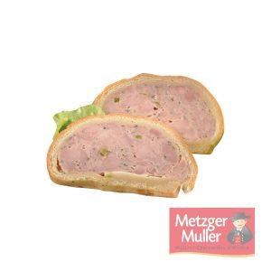 Metzger Muller - pâté en croûte aux asperges