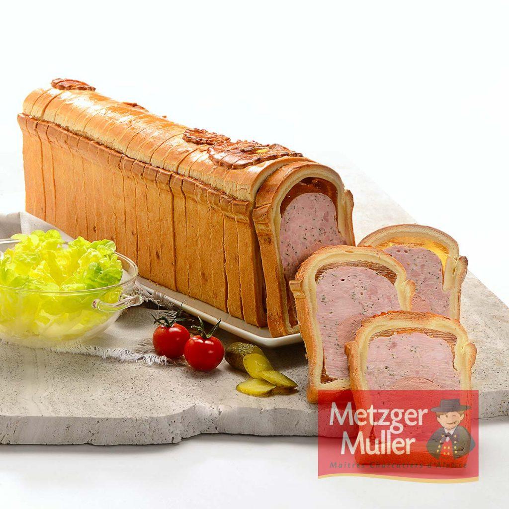 Metzger Muller - Pâté en croûte mousse pur beurre
