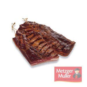 Metzger Muller - Poitrine fumée extra sel sec