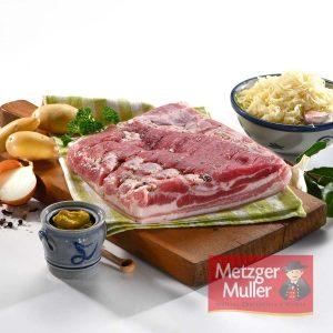 Metzger Muller - Poitrine salée cuite