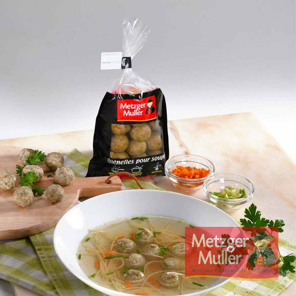 Metzger Muller - Quenelles pour soupe