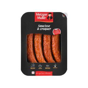 Metzger Muller - Saucisse à croquer fumée cuite