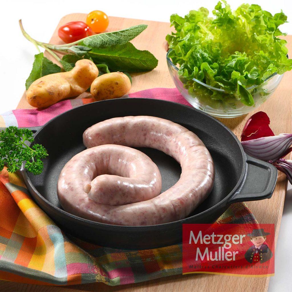 Metzger Muller - Saucisse à frire paysanne