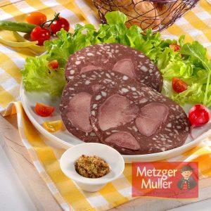 Metzger Muller - Saucisse de langue boyau artificiel