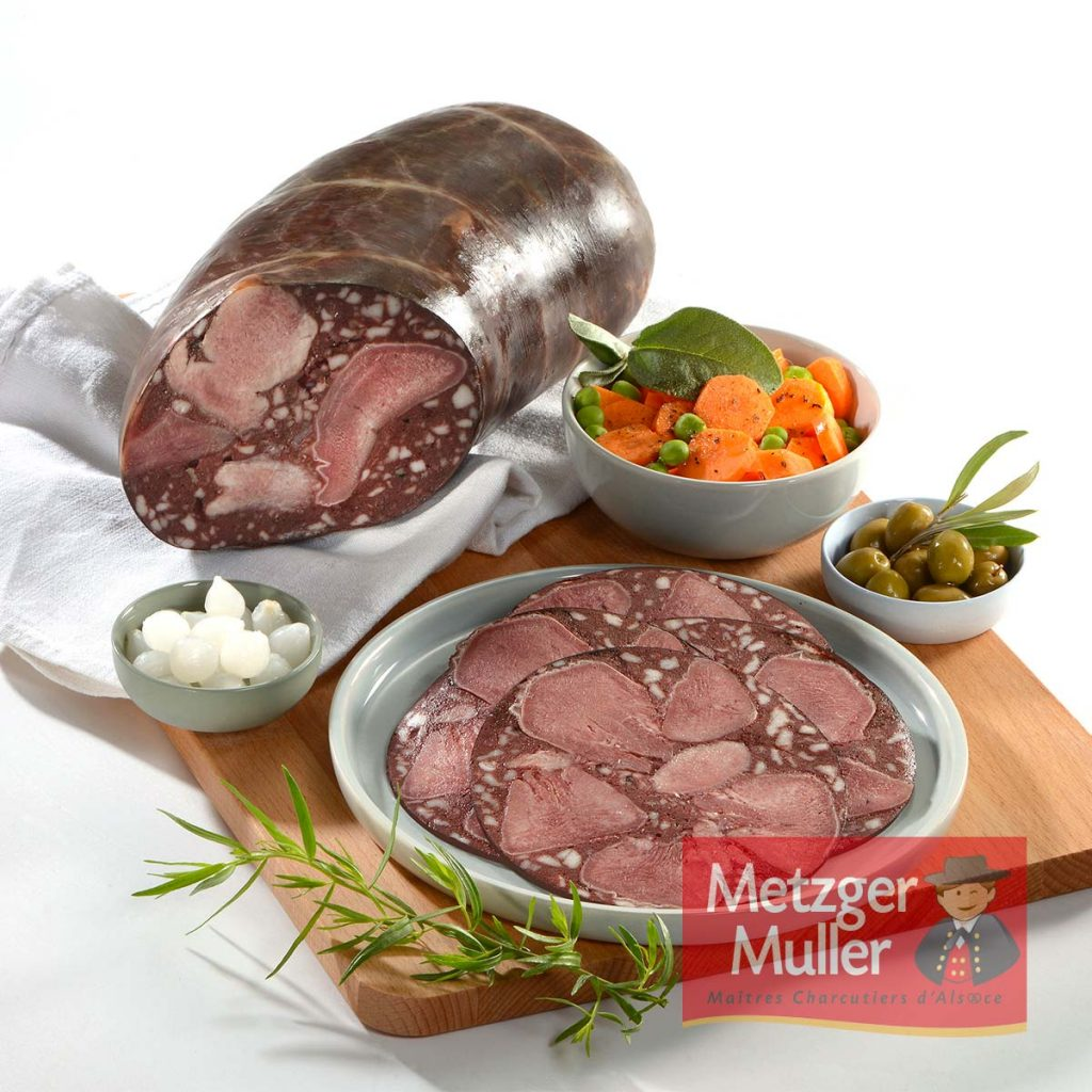 Metzger Muller - Saucisse de langue boyau naturel