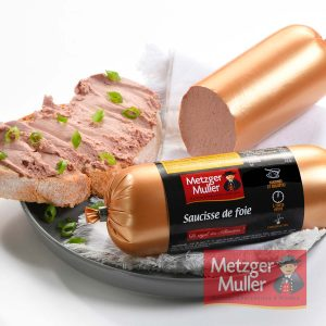 Metzger Muller - Saucisse de Foie boyau artificiel