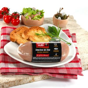 Metzger Muller - Saucisse de foie boyau naturel