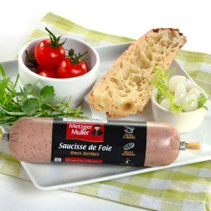Metzger Muller - Saucisse de foie aux fines herbes BN