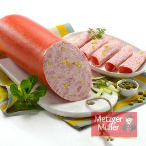 Metzger Muller - Saucisse de Lyon pistachée