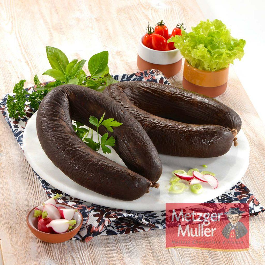 Metzger Muller - Saucisse noire