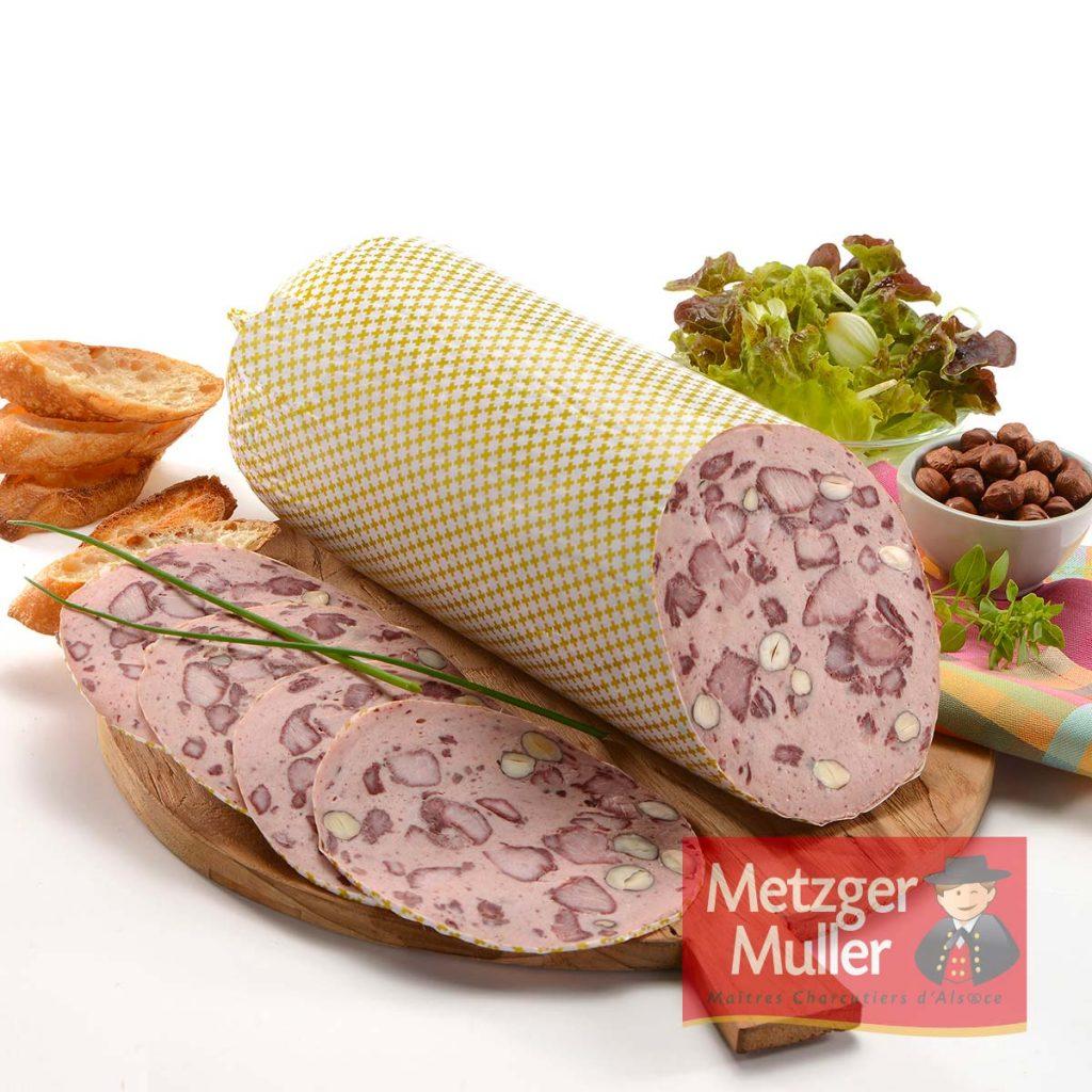 Metzger Muller - Saucisse aux noisettes