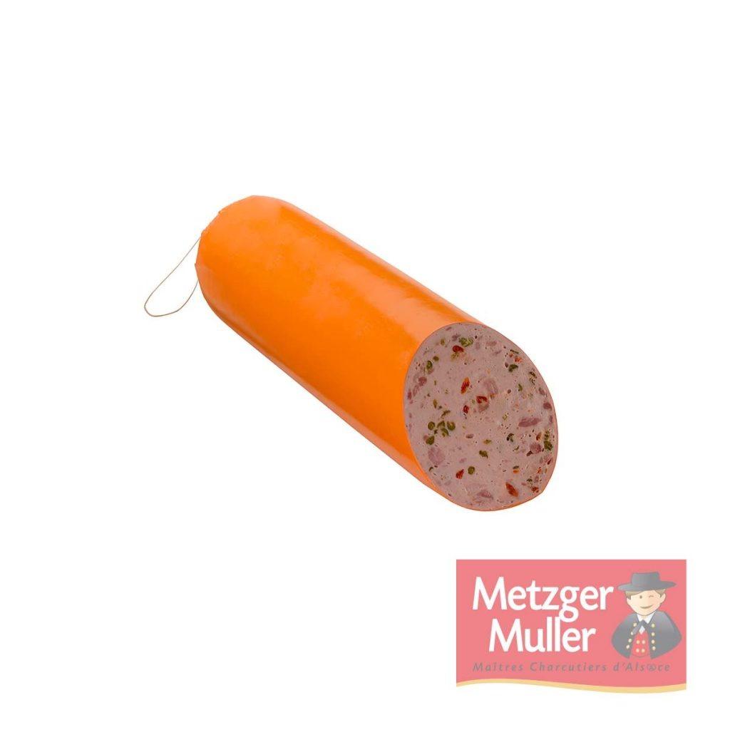 Metzger Muller - Saucisse aux poivrons