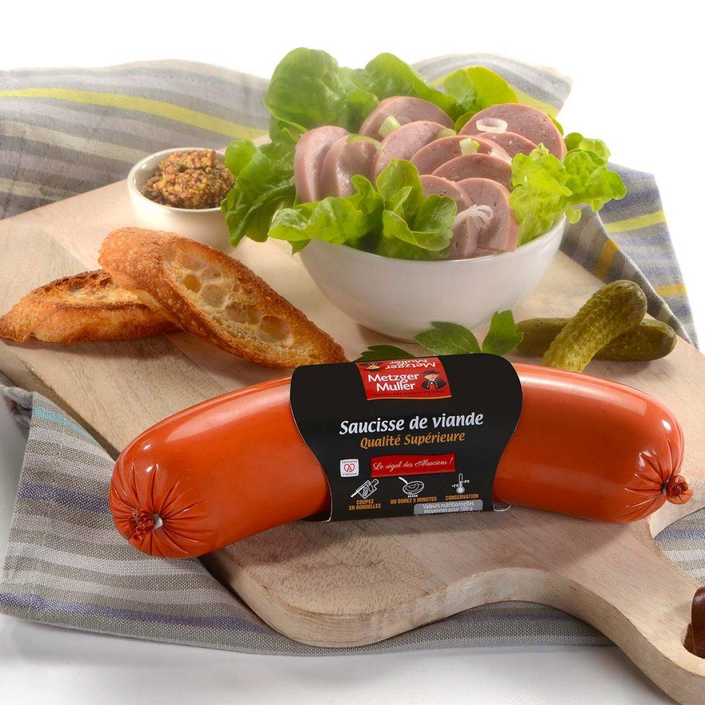 Metzger Muller - Saucisse de viande BA