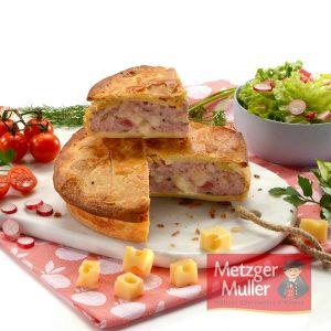 Metzger Muller - Tourte à l'emmental croûte pur beurre