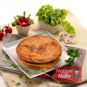 Metzger Muller - Tourte à la volaille forestière